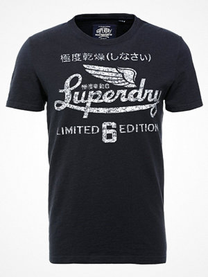Superdry LIMITED ICARUS TEE Tshirt med tryck frontier navy