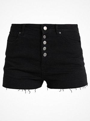 Shorts & kortbyxor - Even&Odd Jeansshorts black
