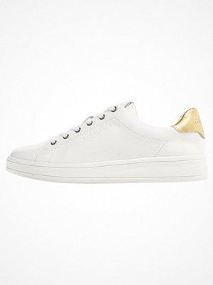 Calvin Klein SOLANGE Sneakers white/gold