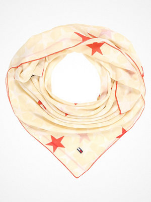 Tommy Jeans ALLOVER STARS Scarf beige