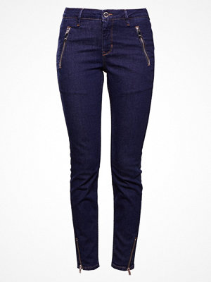 2nd Day SALLY CROPPED ZIP Jeans slim fit indigo
