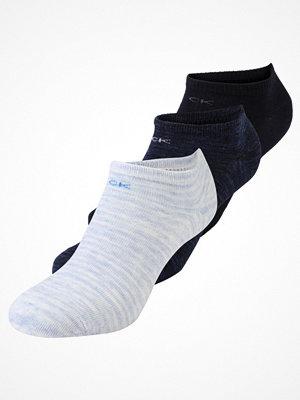 Calvin Klein Underwear LOGO SNEAKER 3 PACK Strumpor blue marble/blue rain/navy