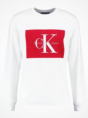 Calvin Klein Jeans HOTORO REGULAR FIT Sweatshirt bright white