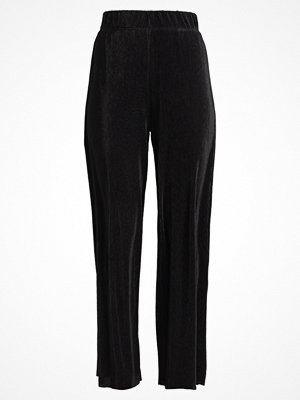 Only ONLAISHA WIDE PANT Tygbyxor black