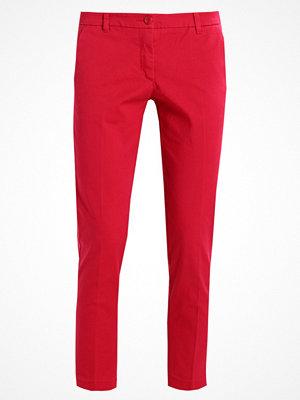 Sisley röda byxor BASIC Chinos fuxia