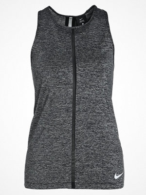 Nike Performance TANK COOL SHINE Funktionströja black/heather/black/clear