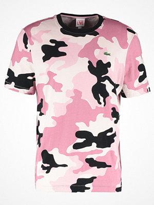 Lacoste Live Tshirt med tryck lantana/multicoblack