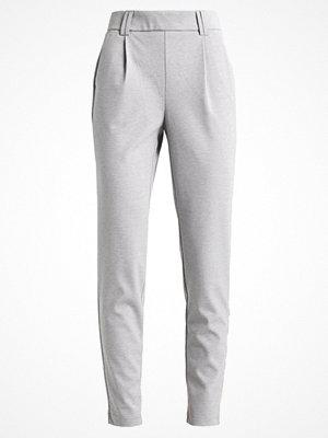 Vero Moda VMJENNY KELLY PANT Tygbyxor light grey melange ljusgrå