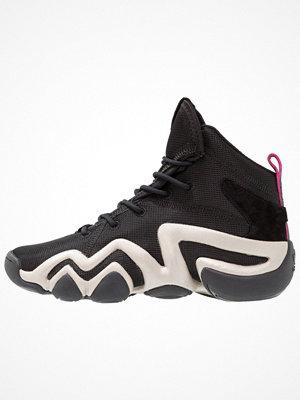 Adidas Originals CRAZY Höga sneakers core black/platinum metallic