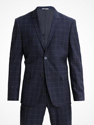 Kavajer & kostymer - Calvin Klein TATE PARIS REFINED WINDOW PANE Kostym dark blue