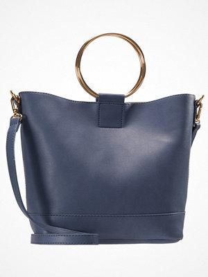 Handväskor - Dorothy Perkins MINI HANDLE Handväska blue