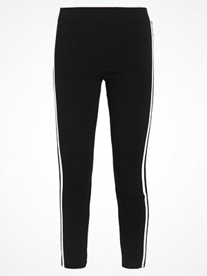Topshop SIDE STRIPE PONTE Leggings black