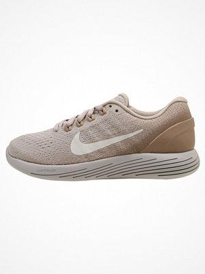 Nike Performance LUNARGLIDE 9 Löparskor stabilitet desert sand/sail sand/vast grey