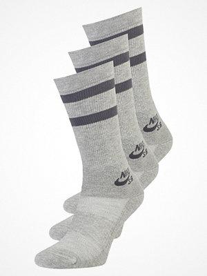 Strumpor - Nike Sb CREW 3 PACK Strumpor dark grey heather/dark grey