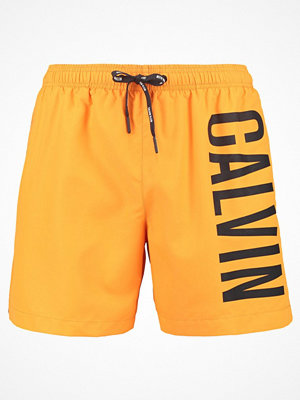 Badkläder - Calvin Klein Swimwear MEDIUM DRAWSTRING Surfshorts sun orange