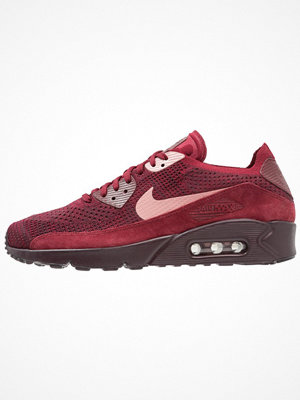 Nike Sportswear AIR MAX 90 ULTRA 2.0 FLYKNIT Sneakers team red/rust pink/deep burgundy