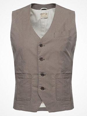Dstrezzed Kostymväst brown