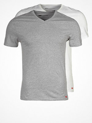 Levi's® NECK TEE SLIM FIT 2 PACK Tshirt bas mottled grey
