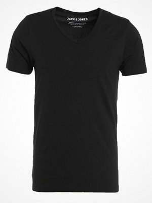 Jack & Jones BASIC VNECK  Tshirt bas black
