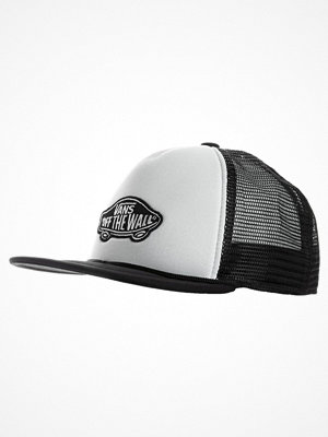 Kepsar - Vans CLASSIC PATCH TRUCKER Keps white/black