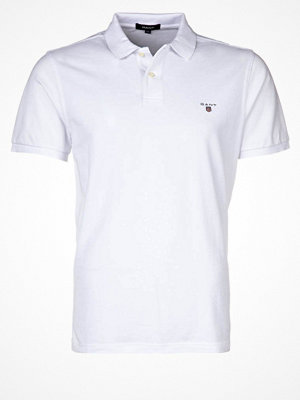 Gant SOLID RUGGER Piké white
