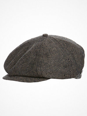 Mössor - Brixton BROOD Mössa brown/khaki herringbone