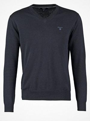Gant WEIGHT VNECK Stickad tröja marine