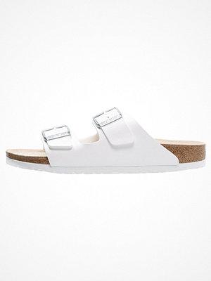 Sandaler & sandaletter - Birkenstock ARIZONA Tofflor & inneskor weiß