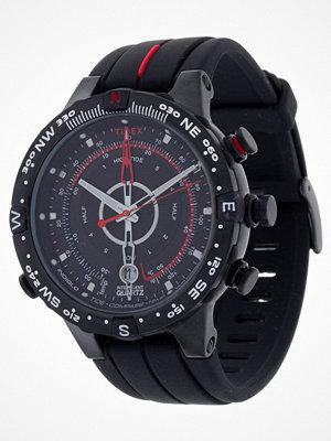 Timex INTELLIGENT QUARTZ TIDE TEMP COMPASS Klocka schwarz