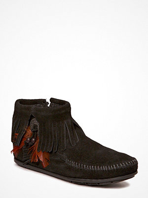 Minnetonka Concho Side Zip Boot