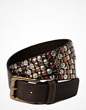 Pieces Rebecca Must Leather Jeans Belt