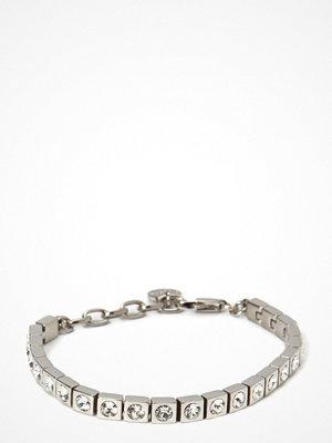 Dyrberg/Kern ljusgrått smycke Cone/B