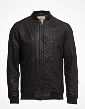 Jackor - Selected Homme Al Bomber Leather Jacket I