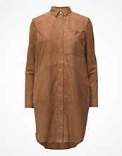 Kappor - Selected Femme Sfvictoria Ls Suede Long Shirt
