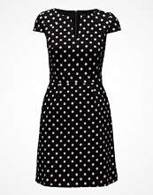 French Connection Dotty Spot Cotton Ss Dress Alt