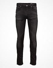 Street & luvtröjor - Selected Homme Shntwomario 2192 Black Knit Jeans Noos