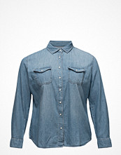 Violeta by Mango Medium Denim Shirt