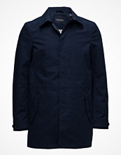 Rockar - Scotch & Soda Ams Blauw Bonded Trench Coat