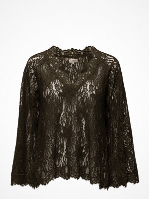 Blusar - by Ti Mo Lace Flared Top