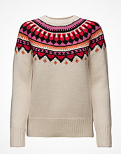 Maison Scotch Soft Chunky Jacquard Knit With Pop Colou