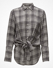 Skjortor - Gant R2. The Checked Flannel Knot Shirt