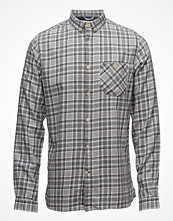 Skjortor - Knowledge Cotton Apparel Small Checked Flannel Shirt - Gots