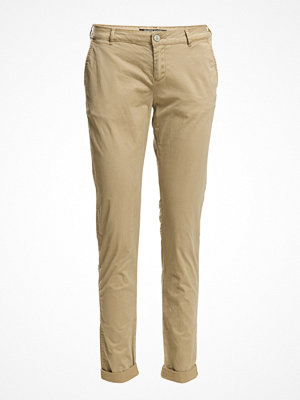 Scotch & Soda omönstrade byxor Medium Weight Pima Cotton Stretch Chino