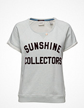 Maison Scotch Short Sleeve Sweat With Text Print