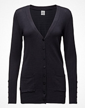 Saint Tropez Long Cardigan W Sl Placket
