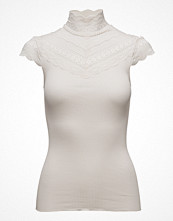 Rosemunde Silk T-Shirt Regular Ss W/Wide Lace
