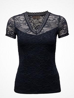 Rosemunde T-Shirt Regular Ss W/Lace
