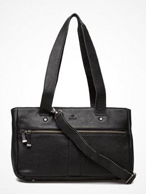 Adax svart axelväska Torino Working Bag Alea