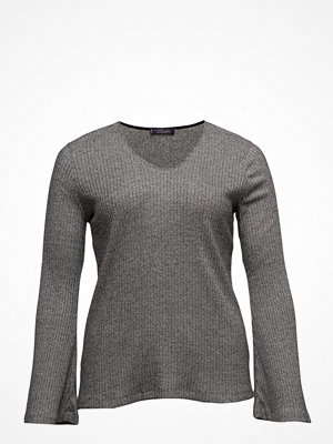 Violeta by Mango Ribbed Cotton T-Shirt