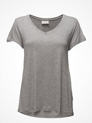 Kaffe Anna V-Neck T-Shirt- Min 16 Pcs.